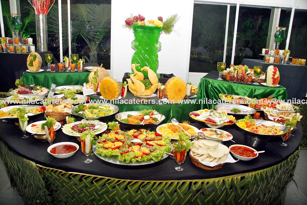 Nila catering services for Catering companies